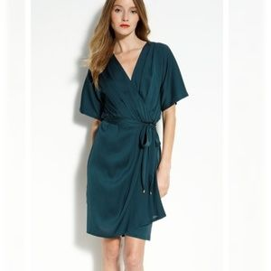 Diane von Furstenberg Genevieve Silk Wrap Dress